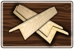 Куточки дерев'яні
