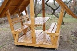 Беседка деревянная СОСНА (№03)