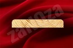 Доска для подшивки свесов крыш СОСНА 105x20мм ж/с (L=4,0м;4,5м)