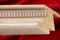 Карниз для мебели из массива №02