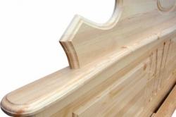 Кровать двуспальная СОСНА (№05)