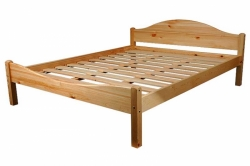 Кровать двуспальная СОСНА (№03)