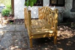 Мостик деревянный СОСНА 2000х850мм (№01)