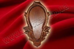 Медальон охотничий с резьбой ОЛЬХА (№02)