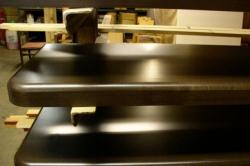 Подоконник деревянный СОСНА 40мм Б/С (клеенный)