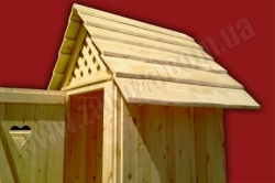Туалет деревянный (№03)