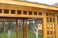 Альтанка дерев'яна СОСНА (№06)