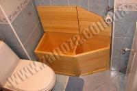 Ящик для белья деревянный СОСНА (№05)