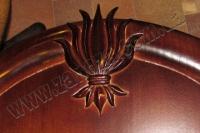 Медальйон мисливський з різьбою ВІЛЬХА (№01)
