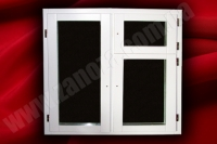 Вікно дерев'яне СОСНА з двокамерним стеклопакетом 1100х1350мм