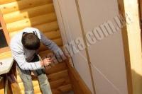 Обшивка домов блокхаусом (наружная) с утеплением пенопластом