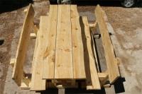 Стол и скамейки для дачи СОСНА (№01)