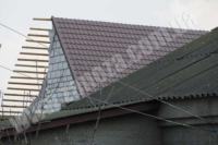 Монтаж стропильной системы двускатной крыши