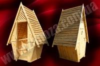 Туалет дерев'яний (№01)