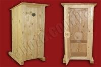 Туалет дерев'яний (№02)
