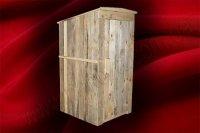 Туалет деревянный для стройки (№ 04)