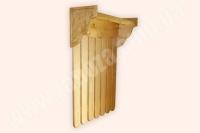 Вешалка настенная деревянная СОСНА (№ 01/1)