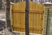 Забор деревянный СОСНА H=1500mm (№12)