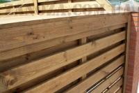 Забор деревянный СОСНА H=1500mm (№14)