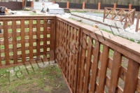 Забор деревянный СОСНА H=1500mm (№01)