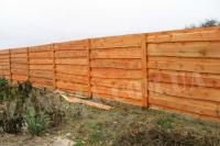 Забор деревянный СОСНА H=1800mm (№16)