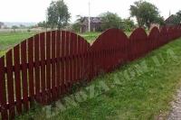 Забор деревянный СОСНА H=1500mm (№17)