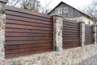 Забор деревянный СОСНА H=1500mm (№21)