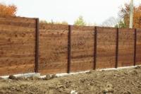 Забор деревянный СОСНА H=1800mm (№03)