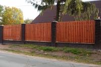 Забор деревянный СОСНА H=1500mm (№04)