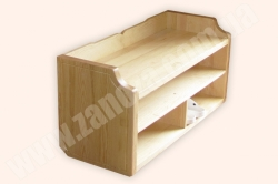 Подставка для обуви деревянная СОСНА (№ 01/2)