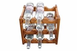 Подставка для хранения винных бутылок СОСНА (№01)