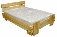 Кровать для дачи двуспальная СОСНА (№01)