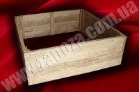 Ящик для цветов деревянный ДУБ (№02)