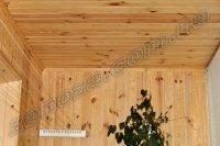 Обшивка стен помещений деревянной вагонкой (сосна, ольха)