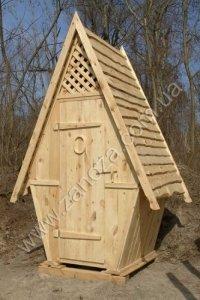 Туалет деревянный (№01)