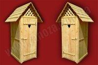 Туалет дерев'яний (№03)