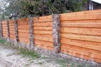 Забор деревянный СОСНА H=1500mm (№09)