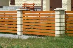 Забор деревянный СОСНА H=1500mm (№19)