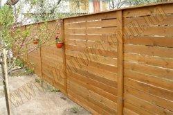 Забор деревянный СОСНА H=1800mm (№20)
