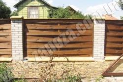 Забор деревянный СОСНА H=1500mm (№02)