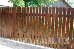 Забор деревянный СОСНА H=1500mm (№08)